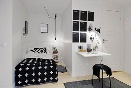 Tips of Decorating Small Bedrooms To Make Bigger 7