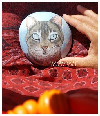 prezzi sassi dipinti gatto