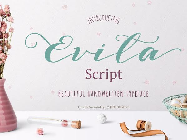 Download Evita Script Font Free