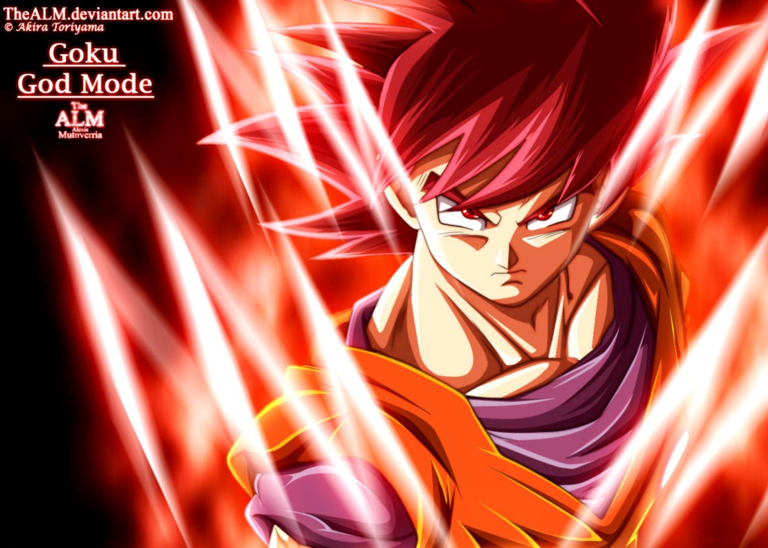 Dragon Ball Z Super Saiyan God Goku Wallpaper Wallpapers Image