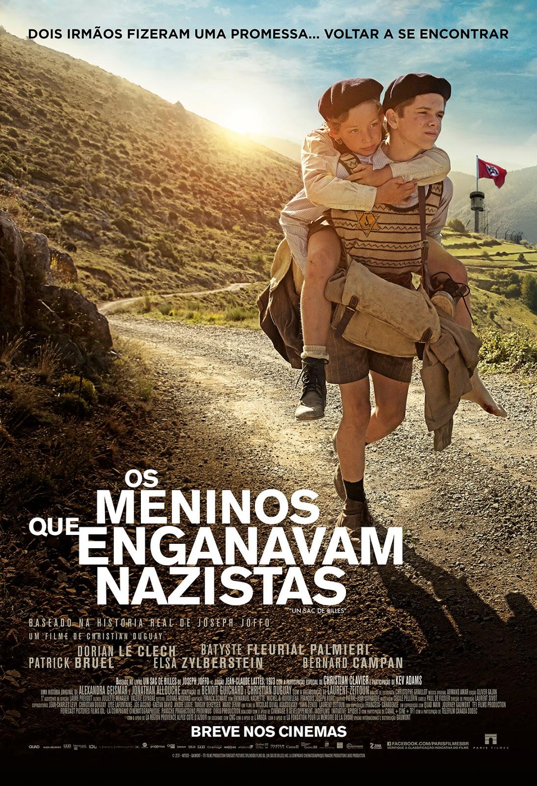 Filme Poster Os Meninos Que Enganavam Nazistas