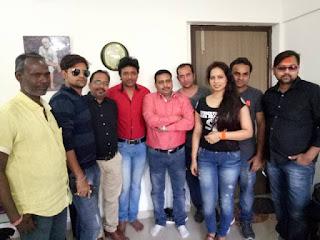 राकेश मिश्रा ,अमरीश सिंह की 'राधे रंगीला' की शूटिंग जोर शोर से सिलवासा !