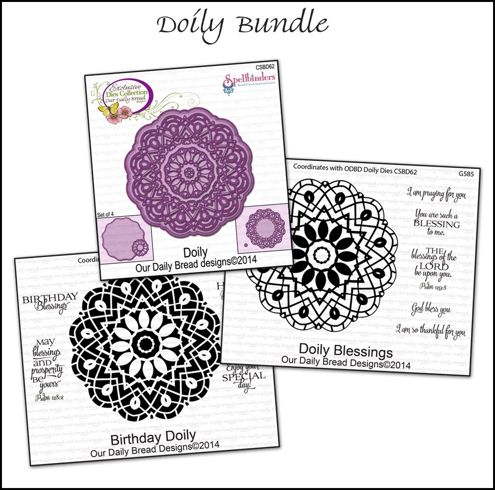 Our Daily Bread Designs Doily Bundle
