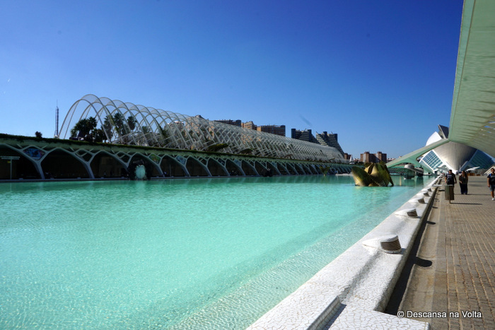 Cidades das Artes e das Ciências Valência Espanha