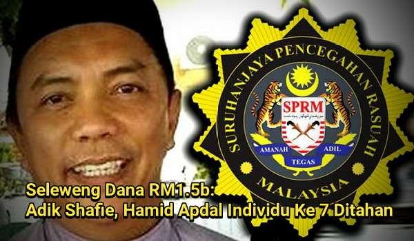 Seleweng Dana RM1.5b: Adik Shafie Apdal Individu Ketujuh Ditahan SPRM