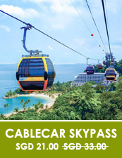 Singapore Travel Blog Cable Car Tour