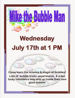 Mike the Bubble Man