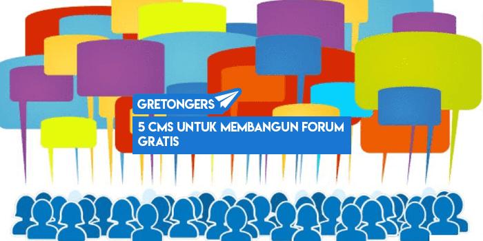 5 CMS Untuk Membangun Forum Gratis