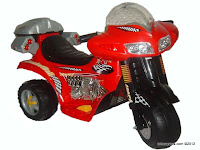 Junior CH8813 Battery-operated Toy Motorcycle
