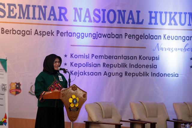 Sekda Sumsel Buka Seminar Hukum Keuangan Negara