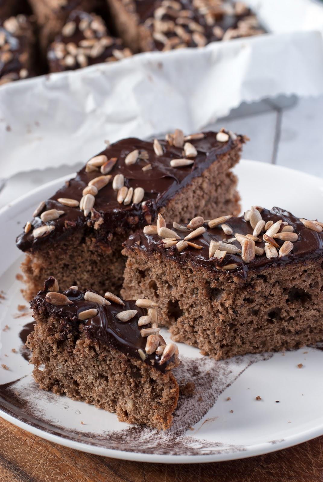 Ciasto z chałwą bez glutenu