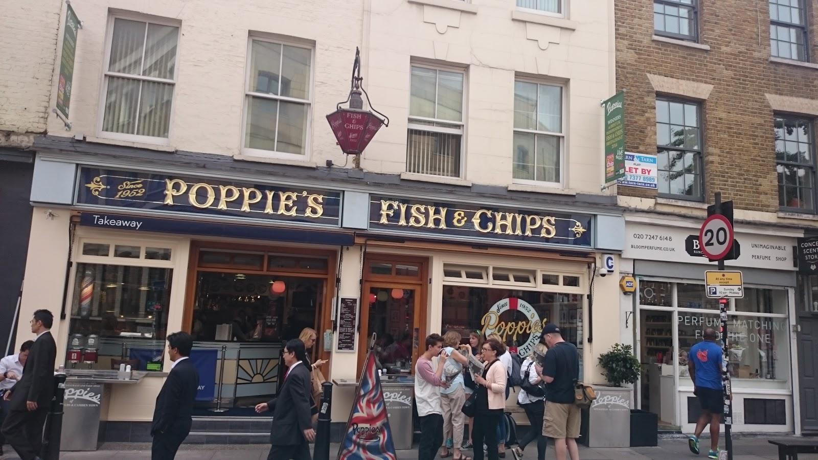En el interior de Spitalfields también encontrarás un puesto del  restaurante e6fc8a23e3e9e