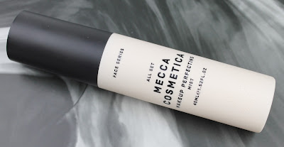 Mecca Cosmetica All Set Makeup Perfecting Mist review