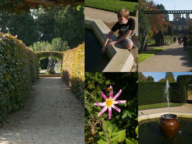 Beaulieu Motor Museum gardens