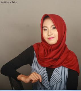 jilbab polos