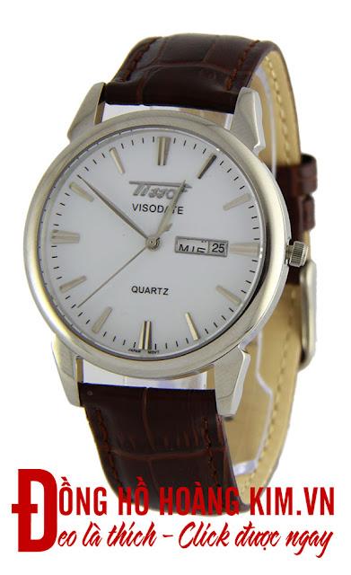 Đồng hồ nam dây da giá dưới 1 triệu Tissot T07