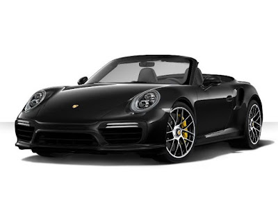 Porsche 911 Turbo S Cabriolet with navigation system