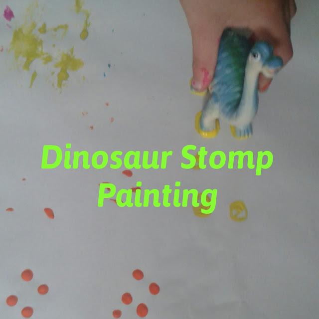 Dinosaur Stomp printing
