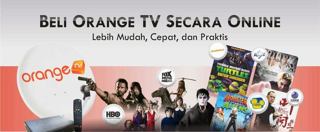 Promo Orange TV Terbaru Bulan September 2014