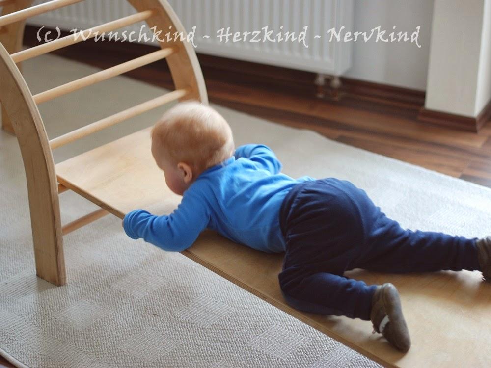 Kletterbogen Wippe : Wunschkind herzkind nervkind: bewegung und motorik