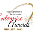 Fab News - We have been nominated as a finalist in the Buckinghamshire Ambassadors Enterprise Award 2013