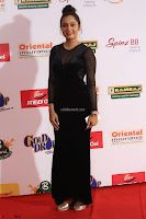 Vennela in Transparent Black Skin Tight Backless Stunning Dress at Mirchi Music Awards South 2017 ~  Exclusive Celebrities Galleries 067.JPG