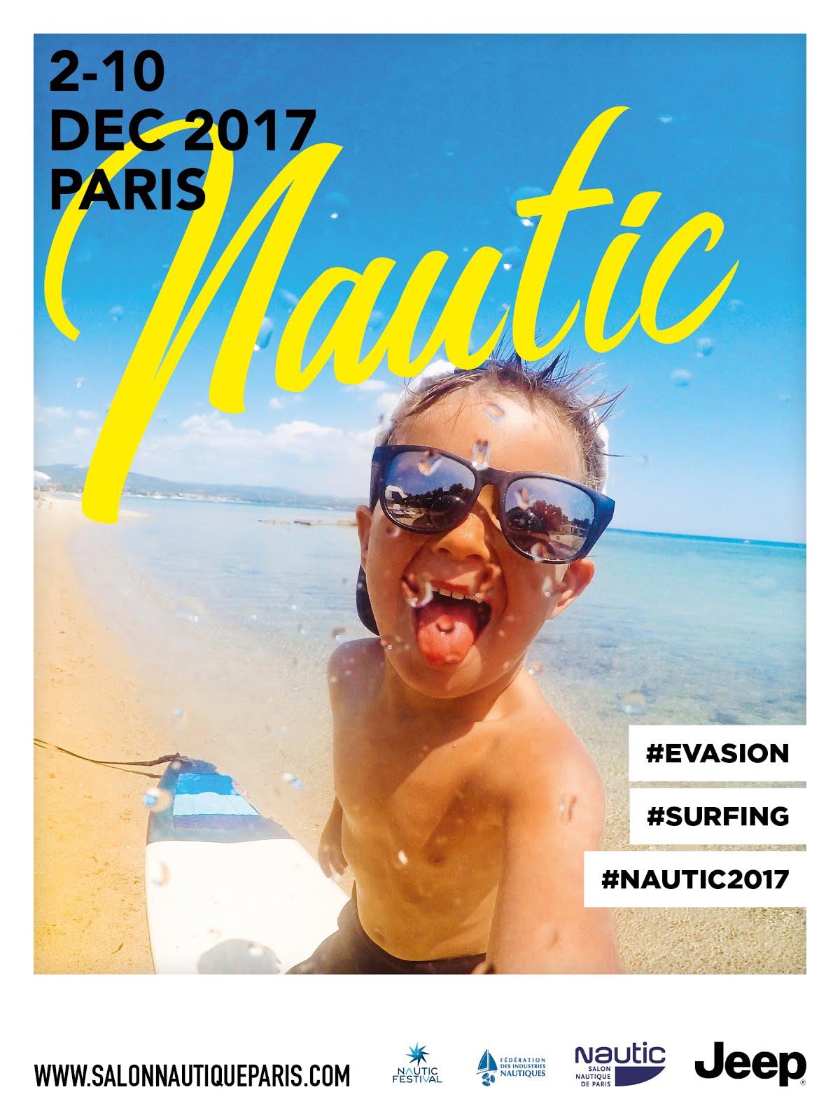 Visuel le nautic 2017 s 39 affiche et change de style for Salon ce paris 2017