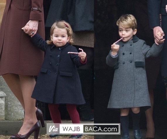 Mantel Pangeran George Ludes dalam Sejam Usai Misa Natal, Ternyata Harganya Cuma...