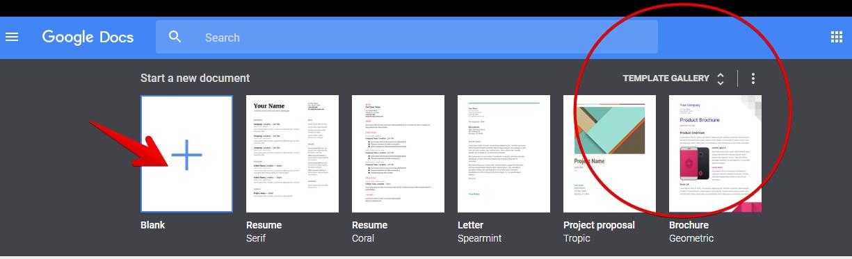 Dokumen google docs