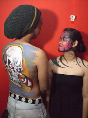 Face Body Painting Indonesia