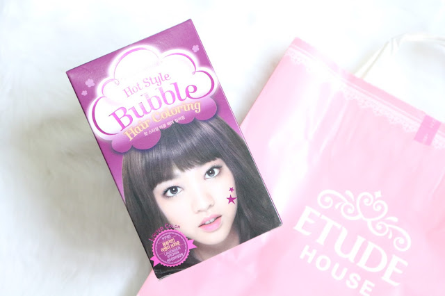 Etude House Bubble Hair Coloring Review