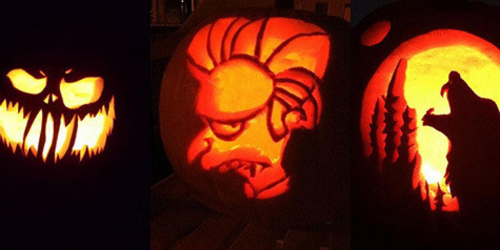 50+ Top Best Spooky Pumpkin Carving Ideas 2016 For Happy Halloween ...