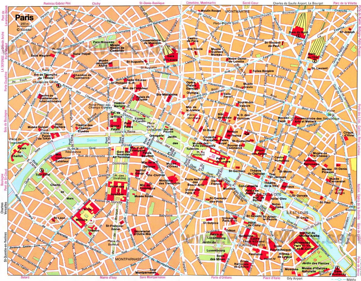 Paris Attractions Free Download Wallpaper