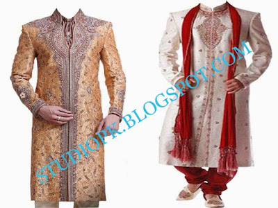 PSD Wedding Groom Dress