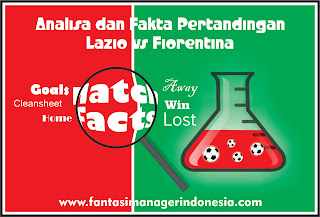 analisa dan fakta pertandingan lazio vs fiorentina