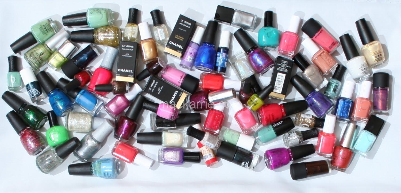 MacKarrie Beauty Style Blog: Wie viele Nagellacke braucht Frau?