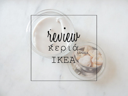 review: κεριά IKEA