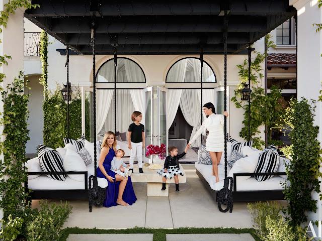 Fotos da mansão de Kourtney Kardashian