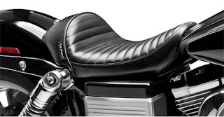 Asiento moto Le Pera Stubs Pleated Cafe