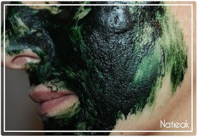 Masque de beauté à la  spiruline
