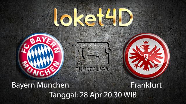 BOLA88 - PREDIKSI TARUHAN BOLA BAYERN MUNCHEN VS FRANKFURT 28 APRIL 2018 ( GERMAN BUNDESLIGA )