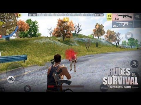 تحميل لعبة Rules Of Survival mod apk للاندرويد اخر اصدار