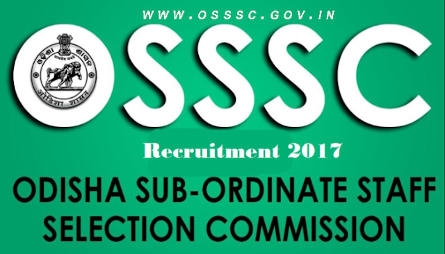 OSSSC junior clerk recruitment