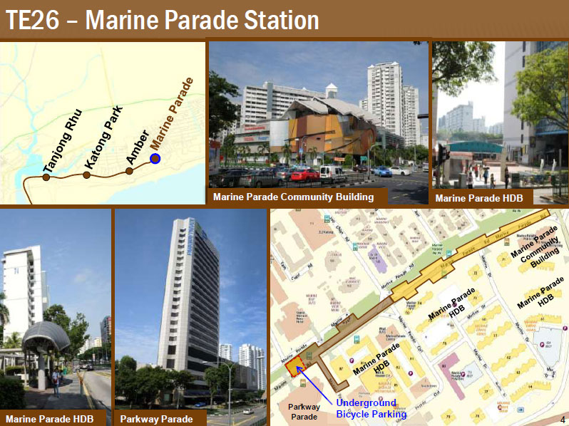 Marine Blue - Marine Parade Station