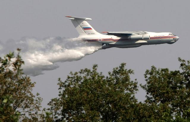 Αποτέλεσμα εικόνας για ilyushin il-76 fire fighting