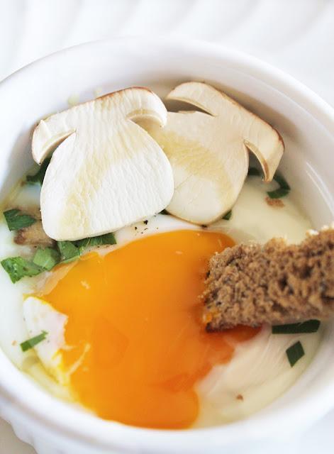 uova e funghi