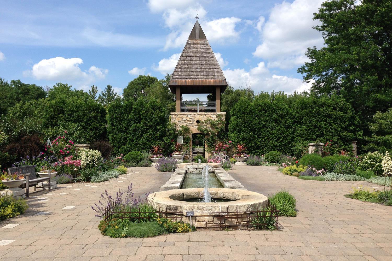 Public Gardens, Madision, Wisconsin, Olbrich Botanical Gardens, Rose Garden