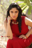 Telugu Actress Zahida Sam Latest Pos in Red Gown at RF Films New Movie Opening  0250.JPG