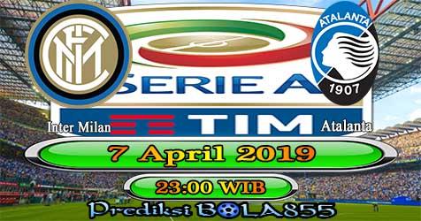Prediksi Bola855 Inter Milan vs Atalanta 7 April 2019