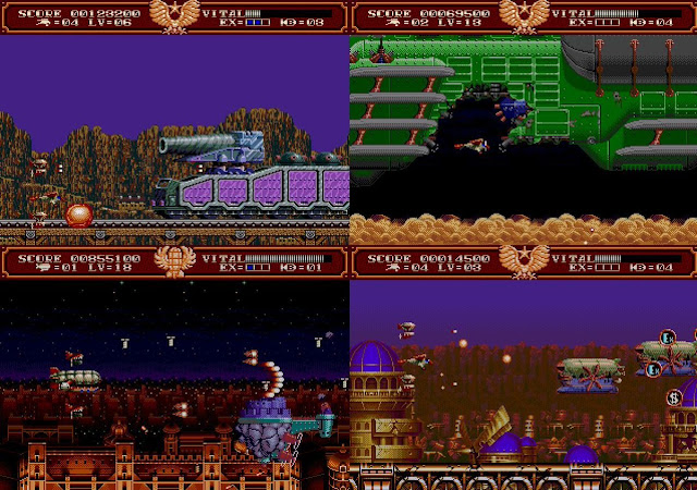 Empire of Steel - Megadrive - Wallpaper screenshots